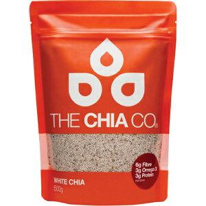 THE CHIA CO ホワイトチアシード 500g[THE CHIA CO チアシード]【送…