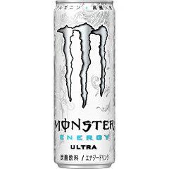 【ケース販売】モンスター ウルトラ 355ml×24本/モンスターエナジー/エナジードリンク/送料無...
