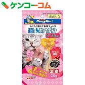 キャティーマン 猫ちゃんホワイデント かつお入り 25g[キャティーマン 口臭予防おやつ(猫用)]