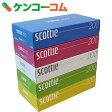 スコッティ ティシュー カラーパッケージBOX 400枚(200組)×5個パック[スコッティ ボックスティッシュ]【7_k】【rank】【basic】【あす楽対応】