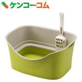 ラクラク猫トイレ ダブルブロック ピスタチオグリーン[トイレ用品・(猫用)]【送料無料】