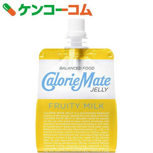 カロリーメイト ゼリー フルーティミルク味 215g×6個×4セット[カロリーメイト ゼリー飲料(バランス栄養食品)]【送料無料】