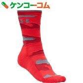 アンダーアーマー UA チャージドコットンミドルカモソックス SAL8339 RED/GPH MD[アンダーアーマー スポーツ用ソックス(男性用)]