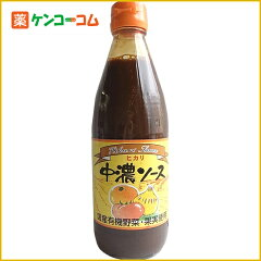 ヒカリ 中濃ソース 360ml[ケンコーコム 光食品 ヒカリ ソース]【あす楽対応】
