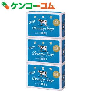 カウブランド牛乳石鹸青箱バスサイズ135g×3個入
