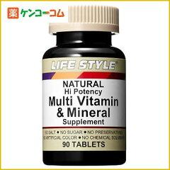 ライフスタイル(LIFE STYLE) マルチビタミン&ミネラル 90粒/ライフスタイル(LIFE STYLE)/マルチ...