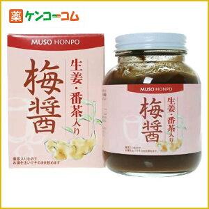 無双本舗 梅醤 生姜・番茶入り 250g[おばあちゃんの知恵袋 梅醤番茶(マクロビオティック)…