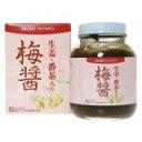 「梅醤 生姜・番茶入り 250g」梅肉と醤油を熟成させた梅醤に、有機番茶と有機生姜粉末を配合...