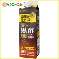 ミツカン マインズ 黒酢ドリンク 1000ml/ミツカン飲むお酢/血圧が高めの方に/税込\1980以上送料...