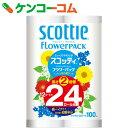 スコッティ フラワー2倍巻き シングル 12ロール【7_k】