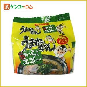 うまかっちゃん 博多からし高菜風味 5個パック/うまかっちゃん/ラーメン/税込\1980以上送料無料...