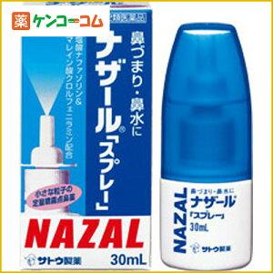 【第2類医薬品】ナザール スプレー(ポンプ) 30ml[ナザール 鼻炎薬/鼻水/鼻炎スプレー]【あす楽対応】