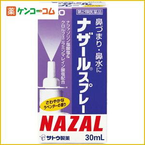 【第2類医薬品】ナザール スプレー ラベンダーの香り 30ml[ナザール 鼻炎薬/鼻水/鼻炎スプレー]【あす楽対応】