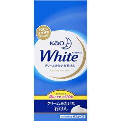 花王ホワイト バスサイズ 130g×6個入[花王 花王ホワイト 石鹸]【kao_TDR】【ka…