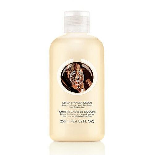 THE BODY SHOP Shea shower cream 250mlfs3gm