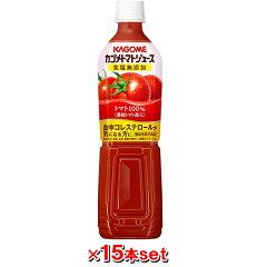 カゴメ カゴメトマトジュース 食塩無添加 スマートPET 720mlx15本カゴメ カゴメトマトジュース ...