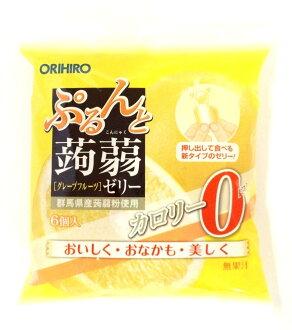 Orihiro 璞和魔芋軟腐病果凍袋新柚子 0 千卡 18gx 6 orihiro 蒟果凍魔芋軟腐病果凍