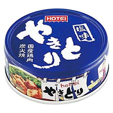 ホテイフーズ やきとり しお味 70g(おつまみ 缶詰)
