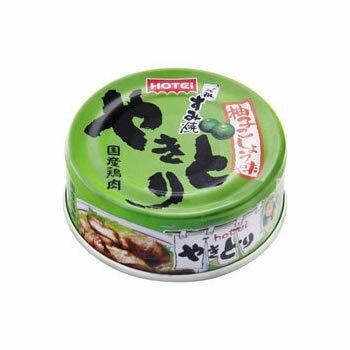 ホテイフーズ やきとり 柚子こしょう味 70g(おつまみ 缶詰)
