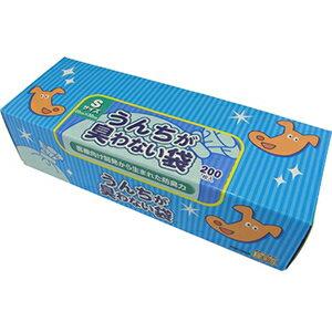 うんちが臭わない袋BOS ボス ペット用 箱型 Sサイズ 200枚入◆うんちが臭わない袋BOS ボス ペッ...