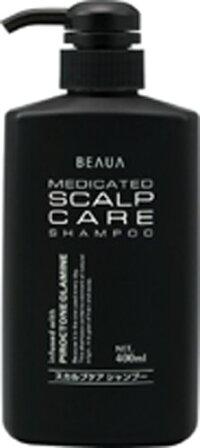 [熊野油脂]ビューア薬用スカルプケアシャンプー400mL(BEAUA)