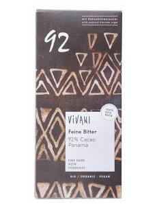 Vivani オーガニック エキストラ ダークチョコレート 92% 80g