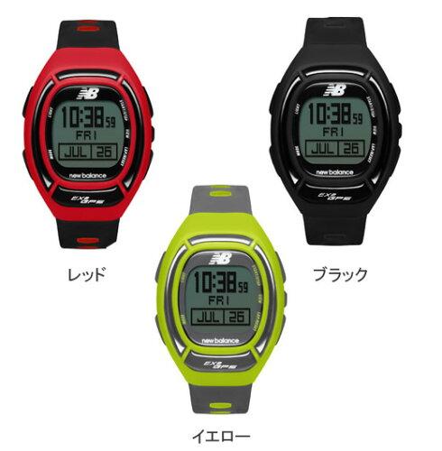 NEW BALANCE ニューバランス GPS機能付 腕時計 EX2-906