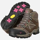 MIZUNO ミズノ ウエーブ ナビゲーション(レディース)(MIZUNO WAVE NAVIGATION) [ブラウン×ピンク][19KM15155] MIZUNO トレッキングシューズ (山歩き 登山 登山靴 アウトドア シューズ 運動靴)