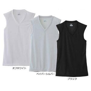 【ゆうパケット配送対象】Mizuno ミズノ [ドライベクターエブリ]Vネックノースリーブシャツ[C2JA6102]メンズ (涼感 冷感 涼感インナー サマーアンダー 夏用 吸汗速乾 インナー)(ポスト投函 追跡ありメール便)