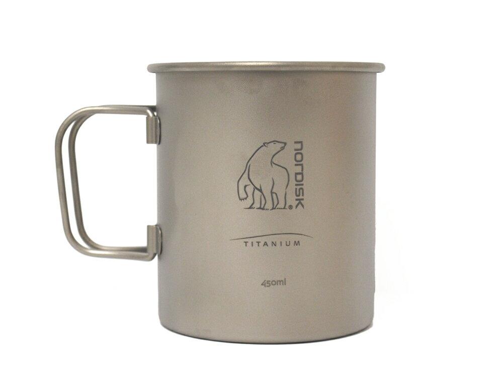 ノルディスク チタンマグカップ 450 ml