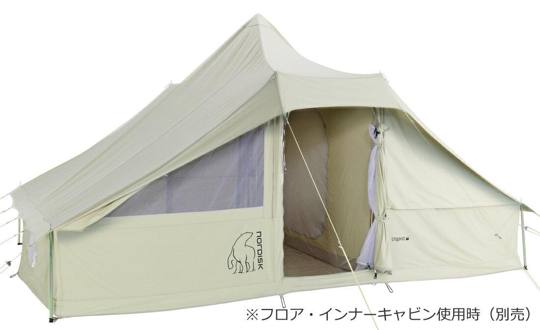 NORDISK コットンテント Utgard 13.2 JP (ウトガルド13.2本体)[142010][242010](アウトドア キャンプ用品 ノルディスク テント tent 6〜8人用):健康エクスプレス