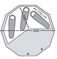 【国内正規品】NORDISKAlfheim12.6ZIF(ジップインフロアー)(アルヘイム12.6専用Zip-In-Floor)[146012](グランピングテントノルディスクアルヘイムアルフェイムキャンプ用品アウトドア)