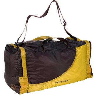 NORDISK pokettaburutoraberubaggu Billund 45L(二大地)Yellow/Black[13萬3085](背包降磁盤寬底旅行皮包戶外露營露營用品戶外專刊)