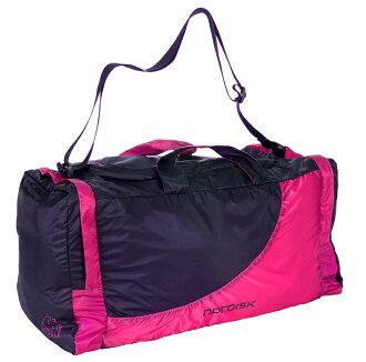 NORDISK pokettaburutoraberubaggu Billund 45L(二大地)Pink/Black[13萬3085](背包降磁盤寬底旅行皮包戶外露營露營用品戶外專刊)