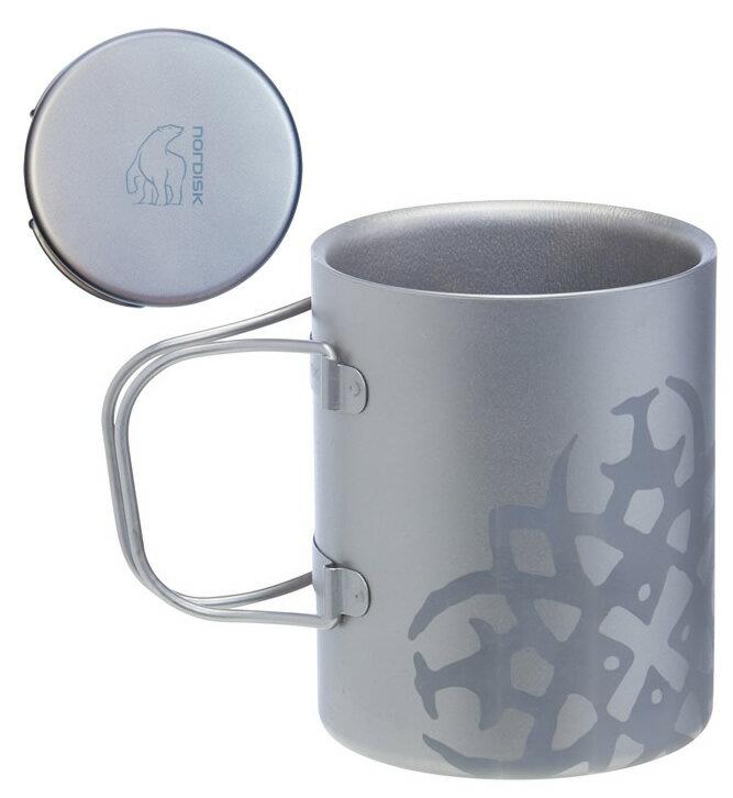 ノルディスク チタニウム ダブルウォール マグカップ 450ml NORDISK Titanium Mug Double-Wall 450 [119031] (キャンプ用品 キャンプ用食器 アウトドア)