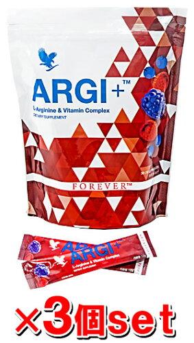 FLP フォーエバー ARGI+ 360g(12g×30包)×3個[アルギニン含有食品][Forever...