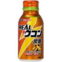 お酒を飲む前後どちらでもOK!コカコーラ リアルウコン炭酸 100ml (クルクミン30mg+アラニン51...