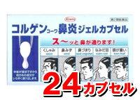 コルゲンコーワ鼻炎ジェルカプセル [ 24カプセル ] 【第2類医薬品】 「コルゲン鼻炎ソフトミニカプセル」が成分増量!