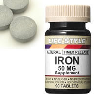 LIFE STYLE (lifestyle) iron (iron) 50 mg 90 pills entered click the Tablet (iron /IRON / supplements) upup7
