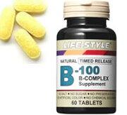 ライフスタイル ビタミン コンプレックス タブレット エープライム サプリメント 0715124023209
