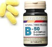 ライフスタイル ビタミン コンプレックス タブレット エープライム サプリメント 0715124023100