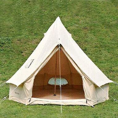 な円形テント。ナンドテント