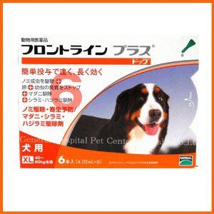 【最安値に挑戦中!】【医薬品 犬用】フロントラインプラス ドッグ XL [40〜60kg未満] 6本入 【...