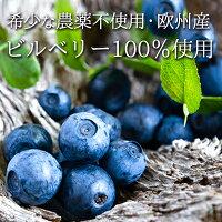 農薬不使用・北欧産ビルベリー100%使用