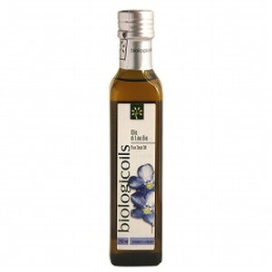 イタリア、EU原産の100%有機亜麻の亜麻仁油です。有機JAS認定品。【創健社】東京セントラルト...