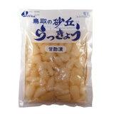砂丘らっきょう 甘酢漬 (110g)【ジャフマック】