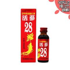 明治 6年根高麗紅参活參28 50ml(4987222760362)