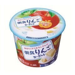 【ヨーグルト】【バラ売】グリコ 朝食りんごヨーグルト145g 1個