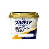 【バラ売】明治 ブルガリアヨーグルトLB81プレーン 贅沢クリーミー生乳100 320g 1個