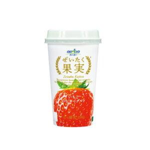 オハヨー おいしく果実 いちごのむヨーグルト190g 6本